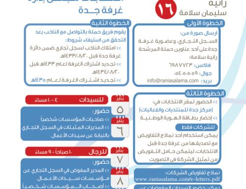 خطوات التصويت في انتخابات غرفة جدة